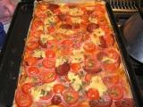 Salámová pizza recept