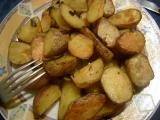 Pečené brambory s česnekovými listy recept