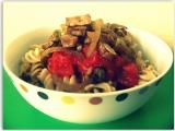 Celozrné těstoviny s tempehem recept