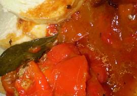 Zapečené,plněné papriky na bazalce s oreganem recept ...