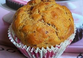Banánové muffiny s kousky čokolády recept