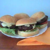 Hamburger po americku aneb žádný karbanátek recept