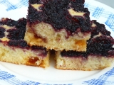 Morušová buchtička s bílou čokoládou recept