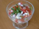 Rajčatový salát trochu jinak recept