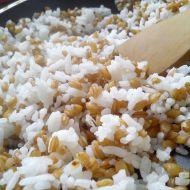 Rýžová příloha s jednozrnkou recept