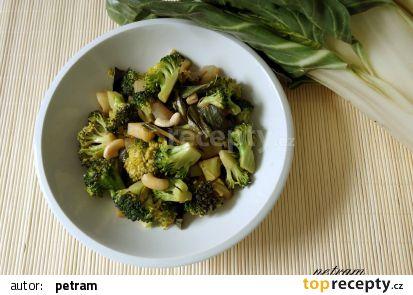 Brokolicovo-mangoldová směs tak trochu po čínsku recept ...