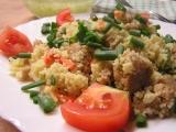 Kuskus se sójovým masem recept