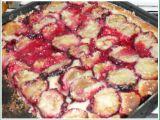 Švestkový koláč  kynutý hrnkový recept