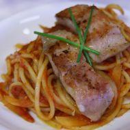 Rajčatové špagety se sumečkem recept