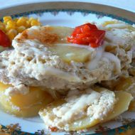 Vepřové na bramborách recept
