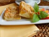 Ovocný koláč s mandlemi recept