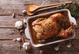 Mexické nadívané kuře