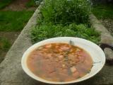 Červená polévka recept