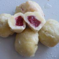Tvarohové knedlíky plněné ovocem recept