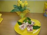Smetanovo  jahodový koláč recept
