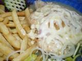 Kuřecí plátek se šunkou, broskví a sýrem recept