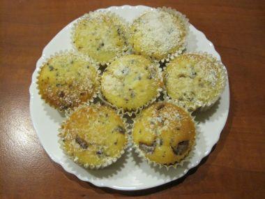 Muffinky se zakysanou smetanou  krásně vláčné