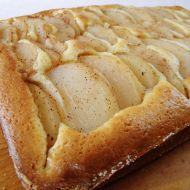 Snadný hruškový koláč recept