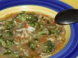 Drožďová polévka s hlívou ústřičnou recept