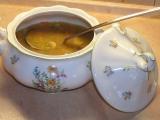 Zeleninová uzená polévka s houbami recept