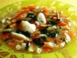 Zeleninová polévka s krupicovými haluškami recept