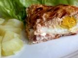 Sýrová zapečená vejce recept