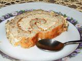 Ořechová roláda s jemným krémem recept