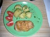 Kuřecí stehna se sýrovo-česnekovou náplní recept