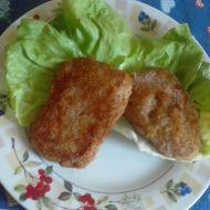 Kuřecí mleté řízky se šunkou a sýrem recept