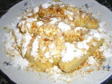 Bramborové sladké šlejšky smažené