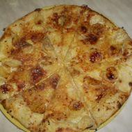 Banánová pizza recept