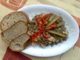 Čočka s kuřecím masem recept