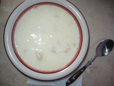 Mléčná polévká od bábinky