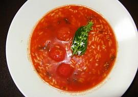 Rajská polévka  bez cukru, přesto šmakózní recept