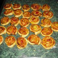 Šťavnatá roláda z listového těsta recept