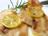 Pangasius na citroně a rozmarýně recept