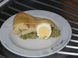 Slaný koláč se špenátem recept