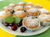 Třešňové muffiny recept