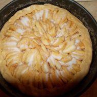 Francouzský křehký jablečný koláč recept