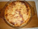 Zapečený květák se sýrovým bešamelem recept