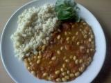 Guláš ze sójových bobů recept