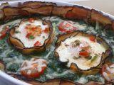 Špenát zapečený se slaninou a vejci recept