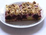 Bohatý ostružinový koláč recept