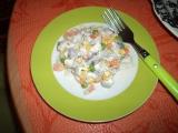 Domácí rybí salát recept