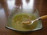 Polévka z uzeného masa s brokolicí a cizrnou recept