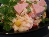 Salátek z těstovinové rýže recept
