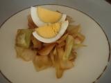 Rané zelí s vajíčkem recept