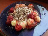 Tvarohové knedlíčky s čerstvým ovocem recept