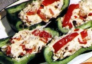 Paprika plněná brynzou