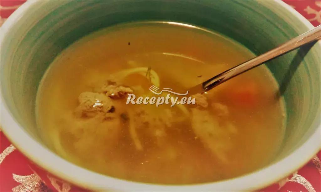 Čínská kuřecí polévka recept  zahraniční recepty